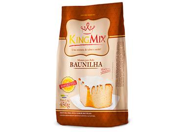 Mistura em Pó para Bolo de Baunilha (450g)