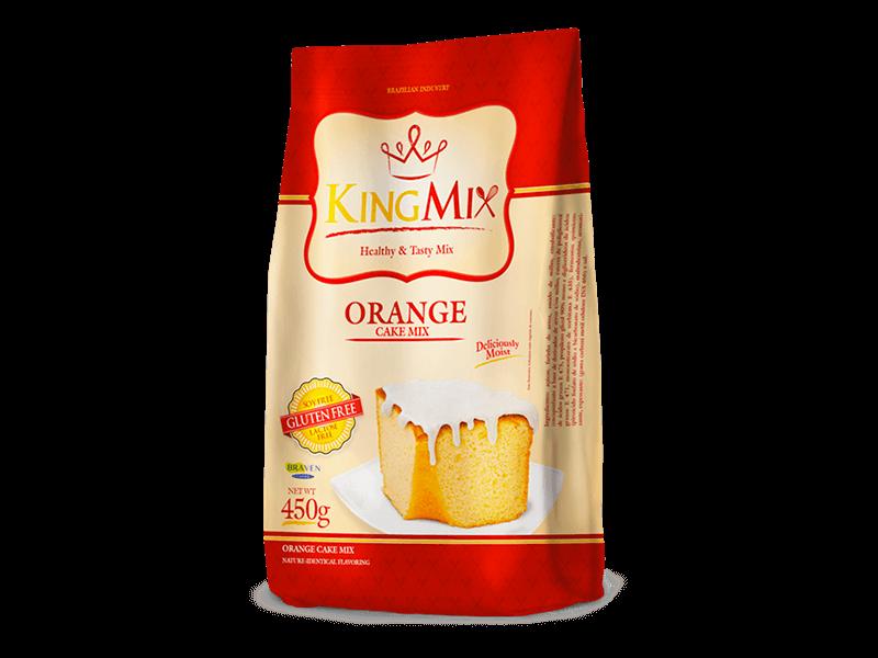 Orange Cake Mix (450g) – Braven Foods